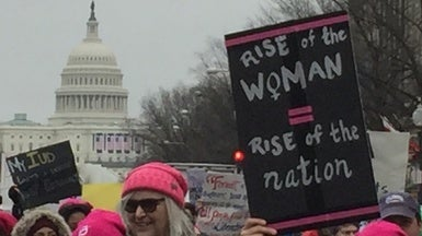 Women's March on Washington Protestors Say Science Is a Driving Force