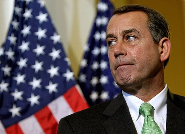 Boehner's Resignation Won't Mean Much for Science in Congress