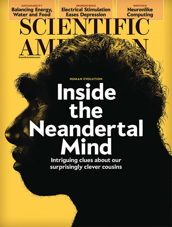 """Readers Respond to """"Inside the Neandertal Mind"""""""