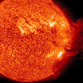Solar Flare This Week Illuminated Power Grid's Vulnerability