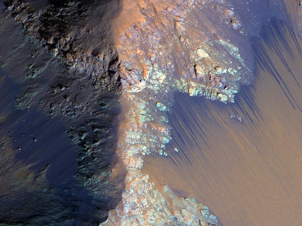 Searching for Life in Martian Water Will Be Very, Very Tricky