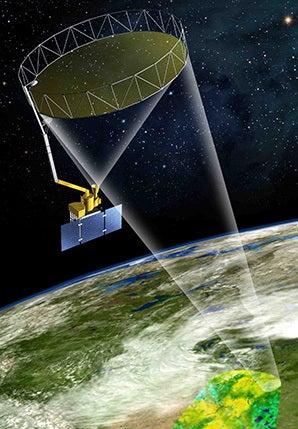 Satellite Treats Earth as Terrarium