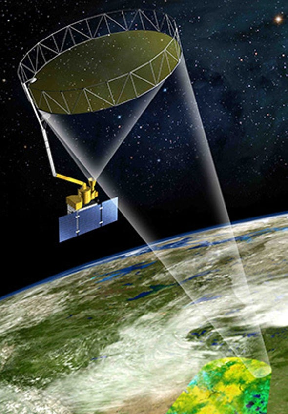Satellite Treats Earth as Terrarium