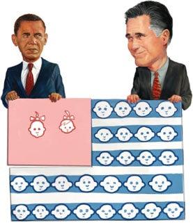 barak obama, mitt romney, Misadventures in Evolutionary Political Theory