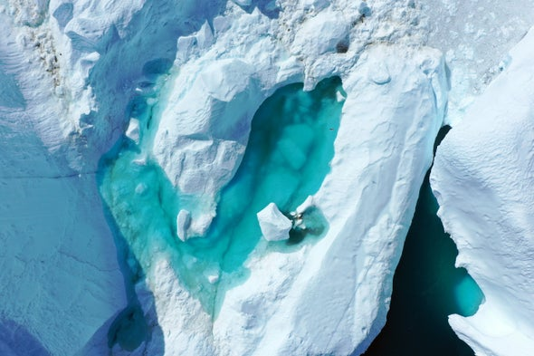 Greenland's Lakes Are Vanishing during Winter as Well as Summer