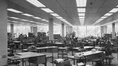 The Origin Of Cubicles And The Open Plan Office