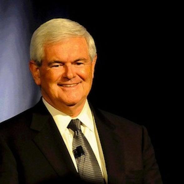Gingrich Tops <i>Scientific American</i>'s Geek Guide to the 2012 GOP Candidates