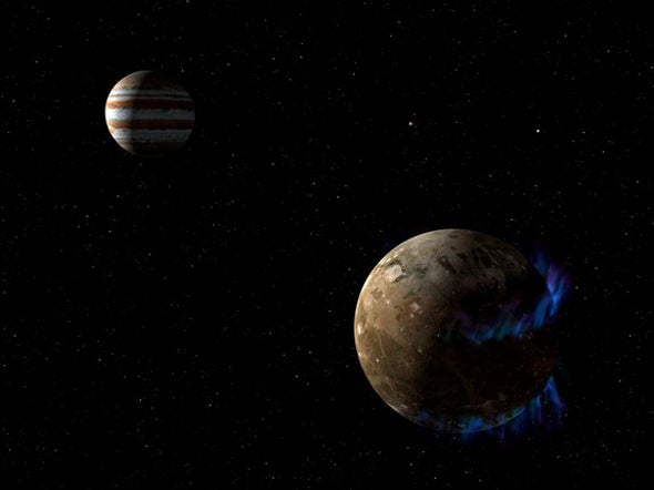 Jupiter's Moon Ganymede Has a Salty Ocean with More Water Than Earth