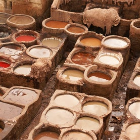 tanneries, morocco