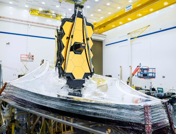 James Webb Space Telescope on Track for March 2021 Launch, NASA Says