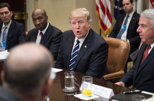 Trump Rails against Drug Industry, but Turns to Its Ranks to Fill Administration