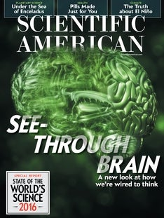 Scientific American Volume 315, Issue 4