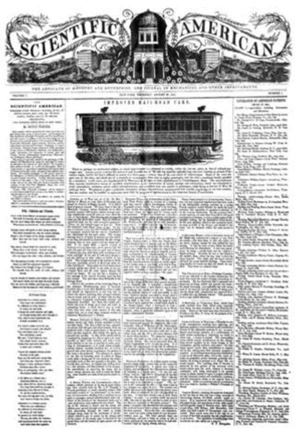 The Origin of <i>Scientific American</i>