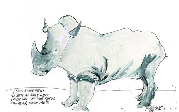 Ralph Steadman's World of Endangered Animals