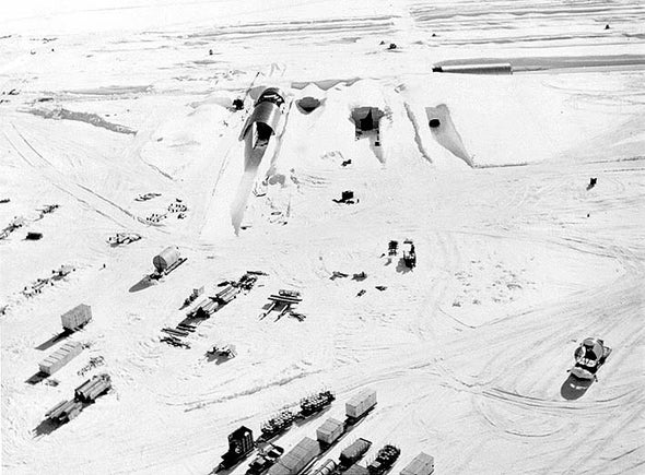Greenland Ice Melt Could Expose Hazardous Cold War Waste