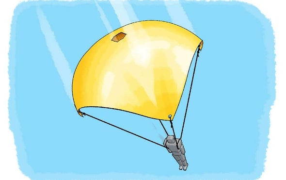 Parachutes with Holes