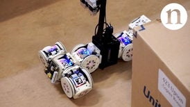 Transforming Robot Changes Shape at Will