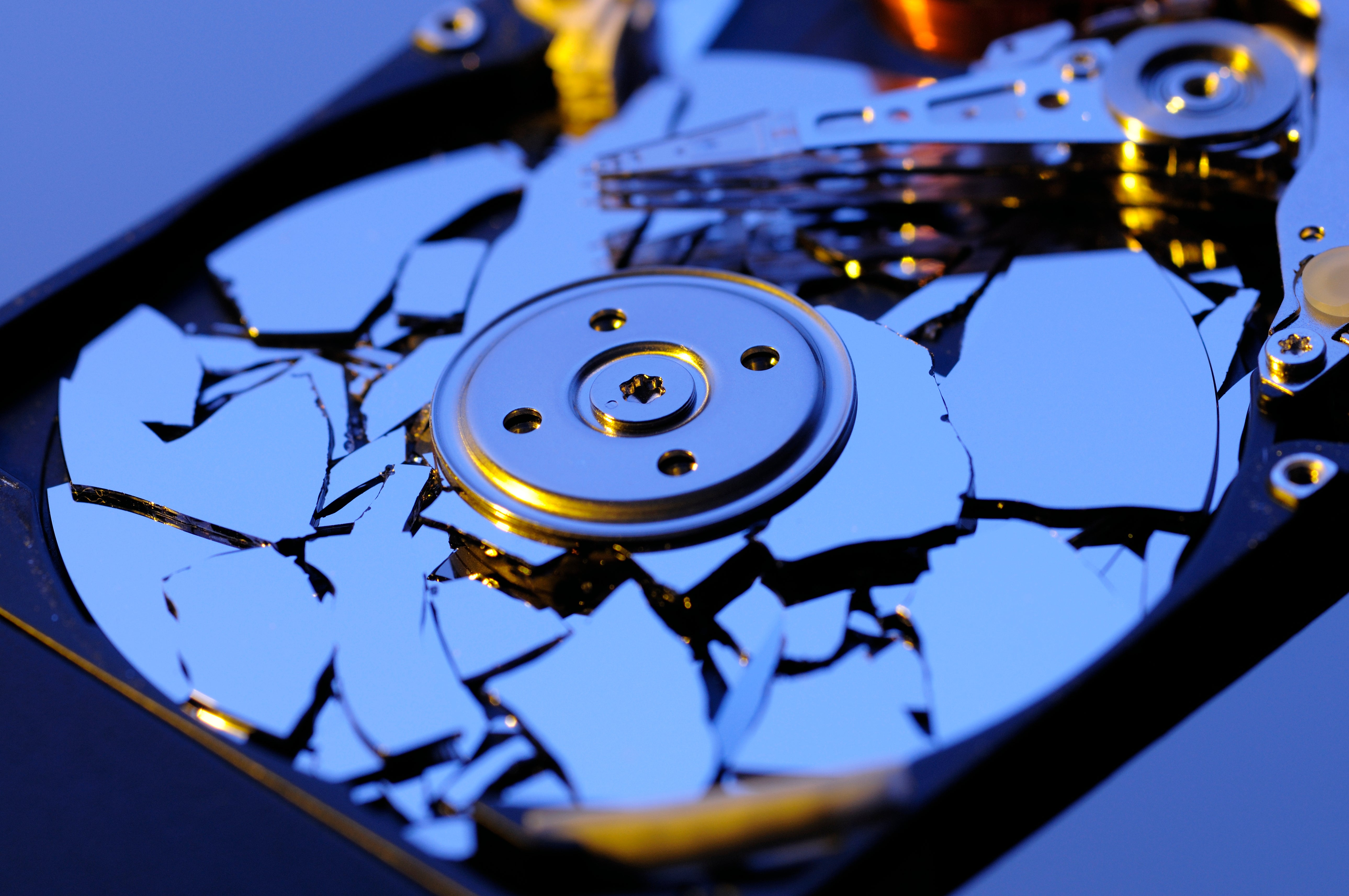 How To Destroy A Hard Drive Permanently Scientific American