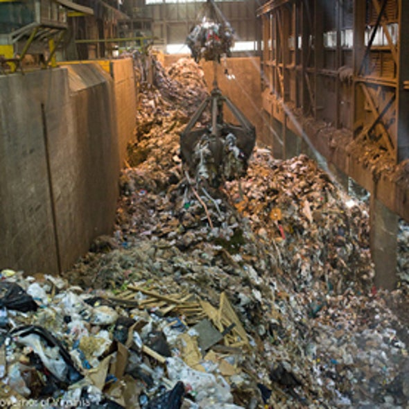 Does Burning Garbage to Produce Electricity Make Sense?