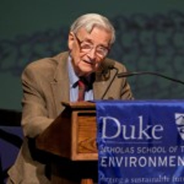 E. O. Wilson: Preserving Biodiversity Is an Ethical Imperative