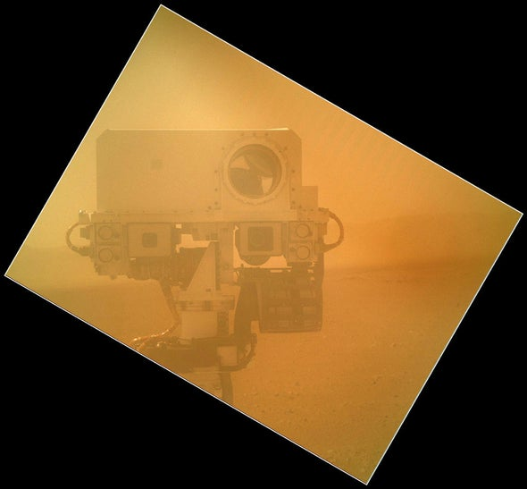 Self-Image: Mars Rover Takes Its Own Portrait
