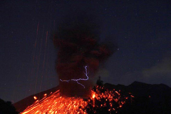 What Causes Eerie Volcanic Lightning?