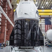 SpaceX Crew Dragon Capsule Explodes During Engine Test