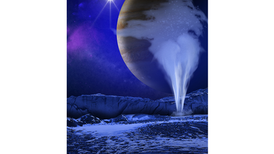Decades-Old Data Unveils Plumes Spewing from Europa
