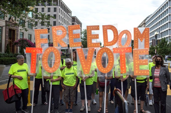 We Must Fight Restrictions on Voting Rights
