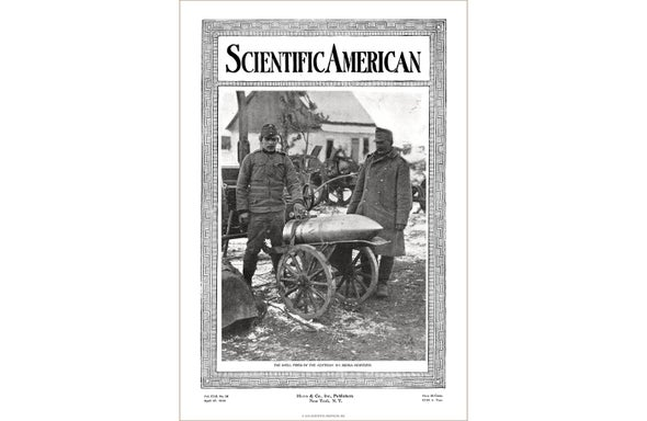 Before America Joined the Great War - Scientific American