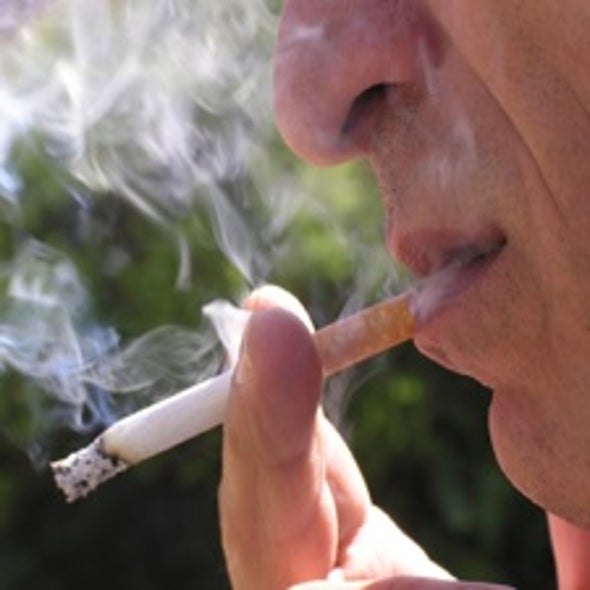 Inhaling Bacteria with Cigarette Smoke