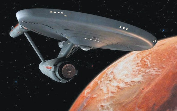 To Boldly Go to the Nearest Star and the Distant Past
