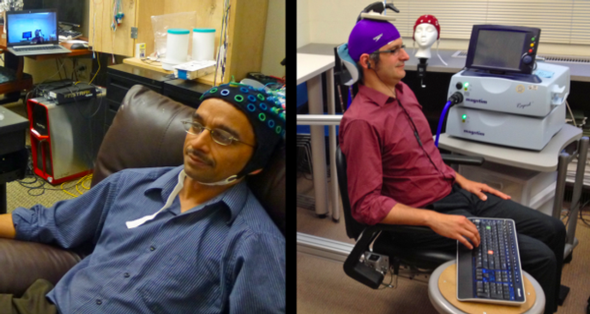 Scientist controls colleague's hand in first human brain-to-brain interface