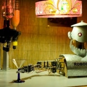 CAN I, ROBOT, BUY YOU A DRINK?: