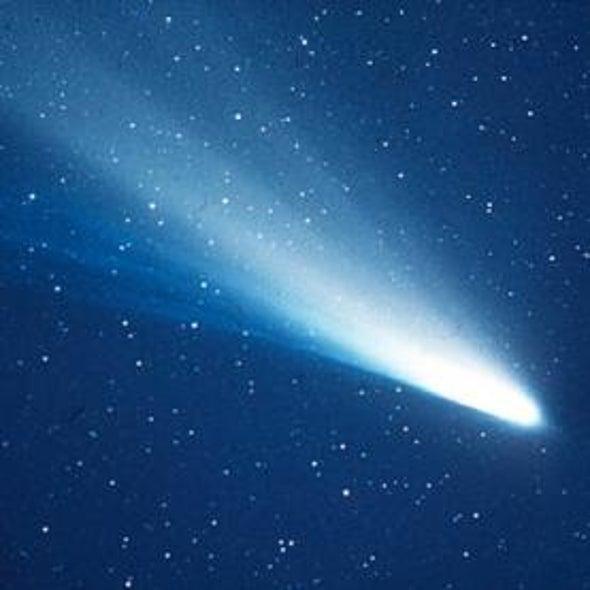 Meteor Shower from Halley's Comet Peaks This Weekend