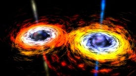 "Meet ""Spikey,"" a Possible Pair of Merging Supermassive Black Holes"