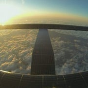 Solar-Powered Plane Soars to New World Records