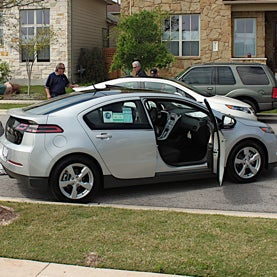 Electric Car Owners All Plug In at Once