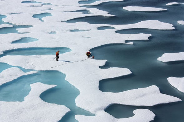 New Health Threats Come with Ice Melt in the Arctic