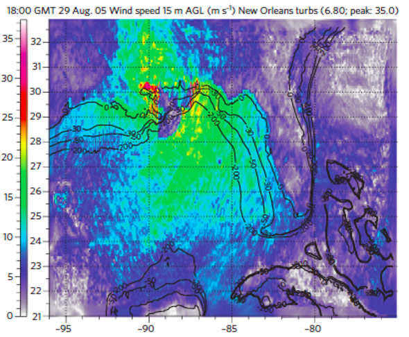 Offshore Wind Farms Could Knock Down Hurricanes