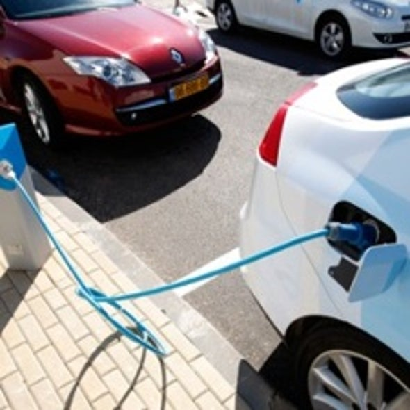 """Lithium-Air Batteries Could Rescue Electric Car Drivers from """"Range Anxiety"""""""