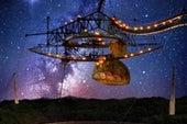 Dead Stars Orbiting Black Holes May Explain Mysterious Fast Radio Bursts