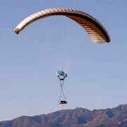 SATELLITE-GIUDED PARACHUTE: