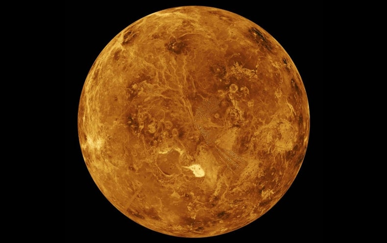 Giant Mountains on Venus May Help Explain Bizarre Clouds