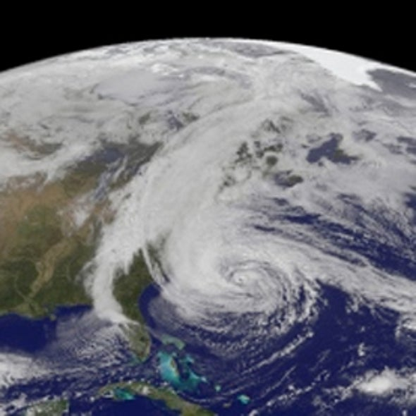 Hurricane Sandy Spins Up Climate Discussion
