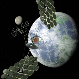space-based solar power, solar satellite, NSSO report