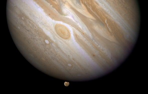 Jupiter, as Aliens Might See It