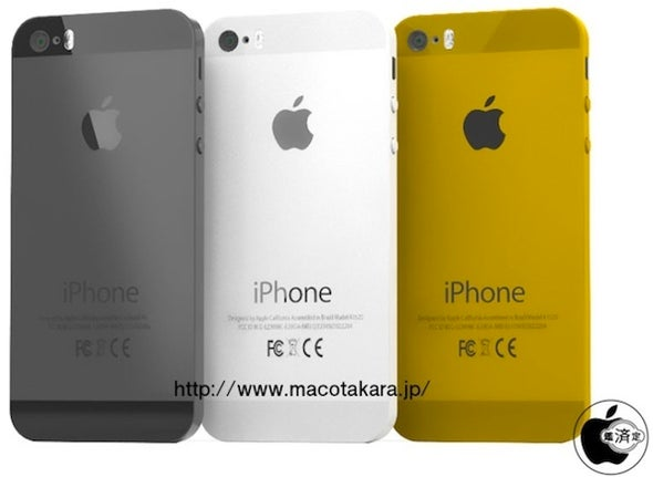 iPhone 5S gets glitzy? Sapphire home button, gold option