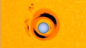 White Dwarf Acts as Cosmic Magnifying Glass