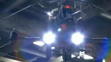 "Hovering ""Home Drone"" Puts Burglars on Display"